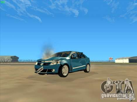 Volkswagen Voyage Comfortline 1.6 2009 для GTA San Andreas вид сверху