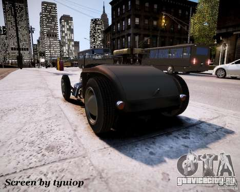 Roadster High Boy для GTA 4 вид справа