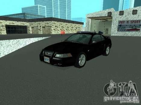Ford Mustang GT Police для GTA San Andreas