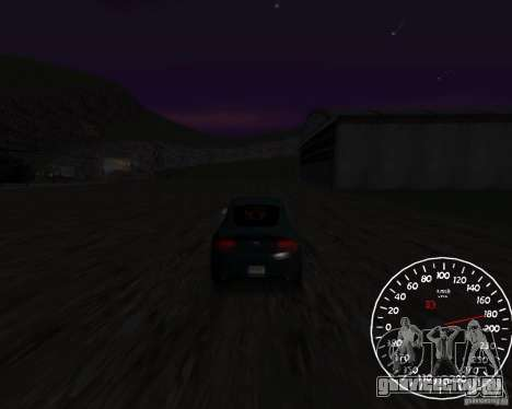 Спидометр 1.5 beta для GTA San Andreas второй скриншот