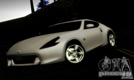 Nissan 370Z V2 для GTA San Andreas