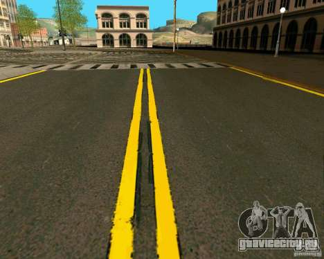 GTA 4 Roads для GTA San Andreas десятый скриншот