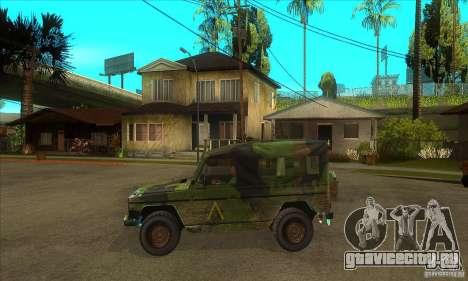 Mercedes Wolf для GTA San Andreas вид слева