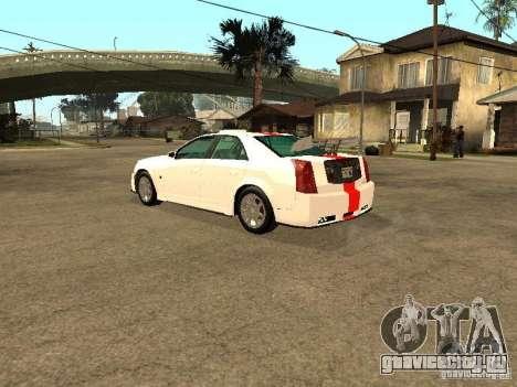 Cadillac CTS 2003 Tunable для GTA San Andreas вид сбоку