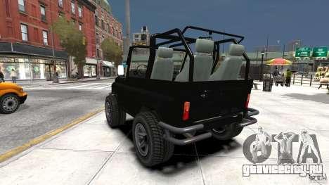 УАЗ-3150 Шалун для GTA 4 вид сзади слева