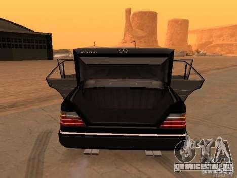 Mercedes-Benz E250 V1.0 для GTA San Andreas вид справа