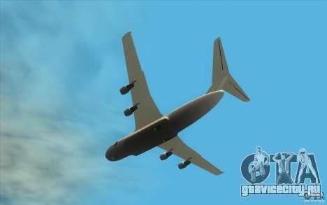 Улучшенная Андромеда для GTA San Andreas вид сбоку