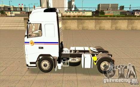 Volvo FH16 Globetrotter TRANSALLIANCE для GTA San Andreas вид слева