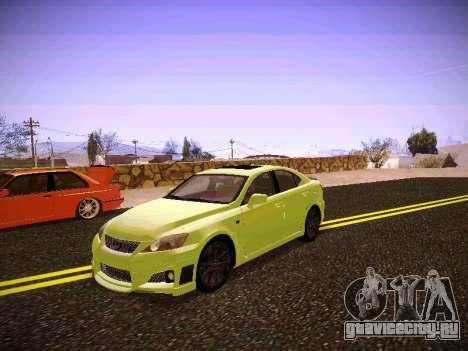 Lexus I SF для GTA San Andreas