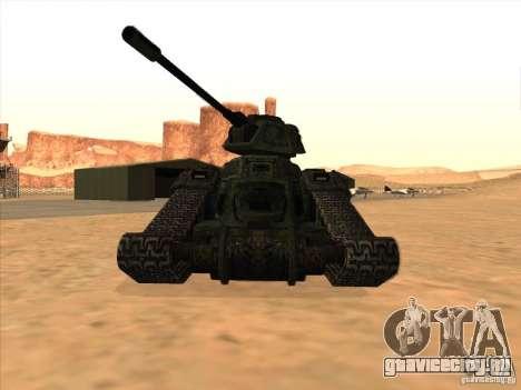 Tанк из игры TimeShift для GTA San Andreas вид слева