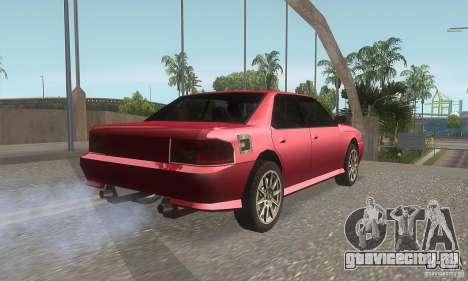 New Sultan HD для GTA San Andreas вид справа