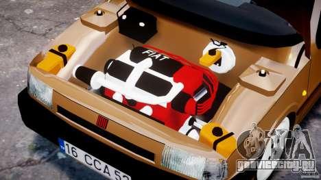 Fiat Tipo 1990 для GTA 4 вид сверху