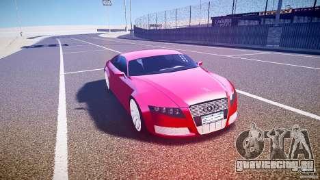 Audi Nuvollari Quattro для GTA 4 вид изнутри