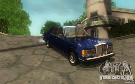 Rolls-Royce Silver Spirit 1990 для GTA San Andreas вид сзади слева