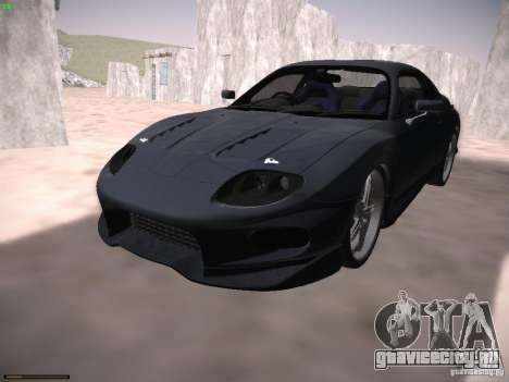 Mitsubishi FTO GP Veilside для GTA San Andreas вид сзади