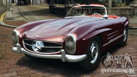 Mercedes-Benz 300 SL Roadster v1.0 для GTA 4