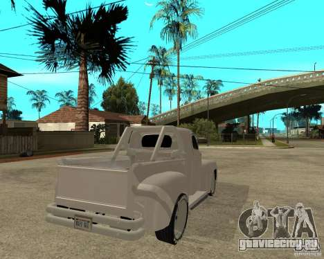 Ford F1 Pickup Hotrod 49 для GTA San Andreas вид сзади слева