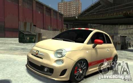 Fiat 500 Abarth Esseesse V1.0 для GTA 4