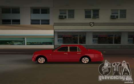 Bentley Arnage T 2005 для GTA Vice City вид справа