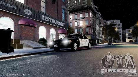 Ford Crown Victoria CVPI-K9 V6.9A-LAPD-ELS для GTA 4 вид сбоку