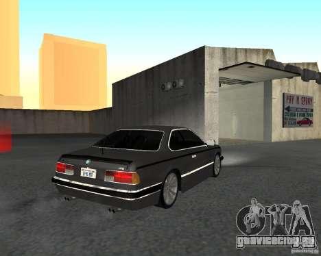 BMW M6 E24 для GTA San Andreas вид слева