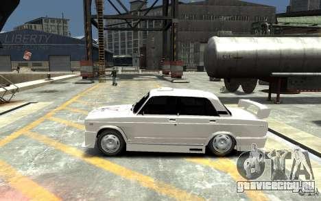 ВАЗ 21074 для GTA 4 вид слева