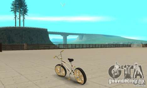 Spin Wheel BMX v2 для GTA San Andreas вид сзади слева