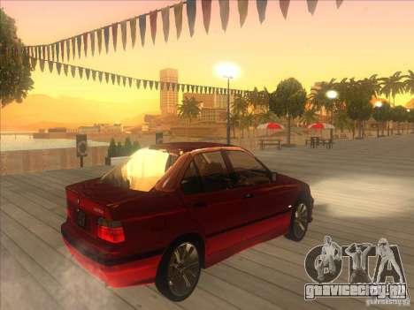 BMW E36 для GTA San Andreas вид справа