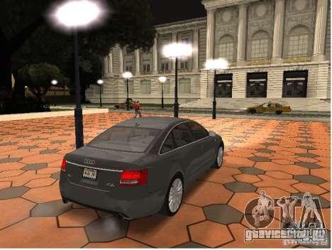 Audi A6 для GTA San Andreas вид слева