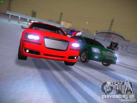 Chrysler 300C SRT8 2011 для GTA San Andreas вид сбоку