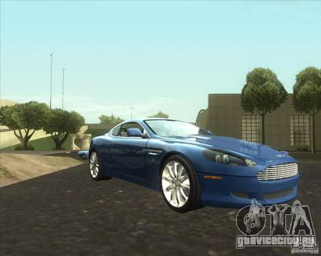 Aston Martin DB9 tunable для GTA San Andreas
