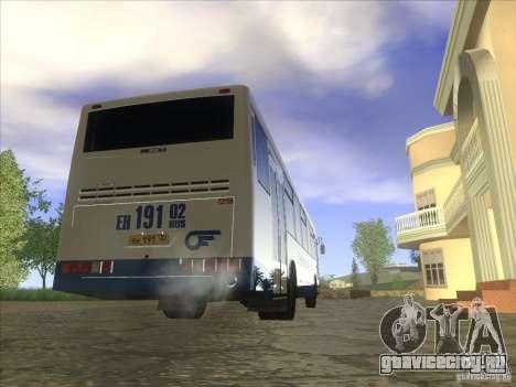 НефАЗ 5299-11-32 для GTA San Andreas вид сзади слева
