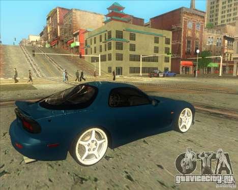 Mazda RX 7 для GTA San Andreas вид справа