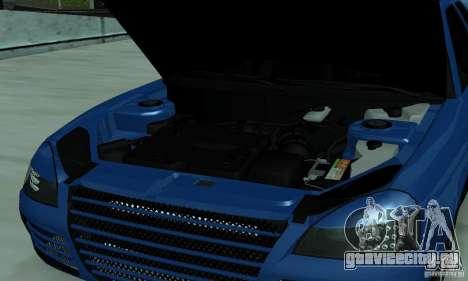 Lada Priora 2012 для GTA San Andreas вид изнутри