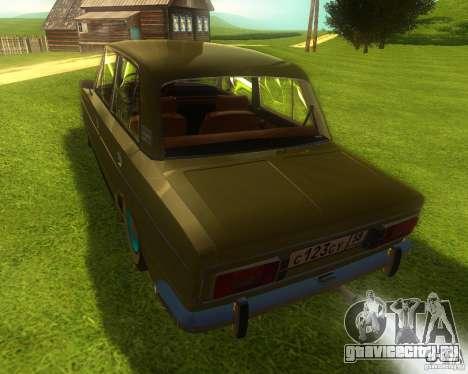 ВАЗ 2106 retro для GTA San Andreas вид слева