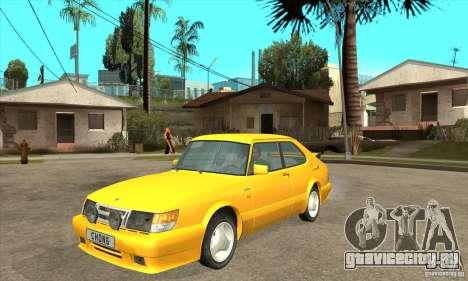Saab 900 Turbo 1989 v.1.2 для GTA San Andreas вид слева