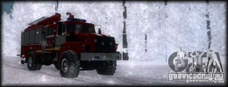 Урал 43206 АЦ 3.0-40 для GTA San Andreas вид справа