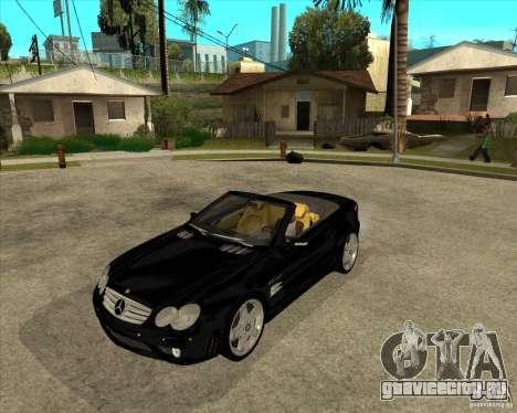 Mercedes Benz AMG SL65 V12 Biturbo для GTA San Andreas