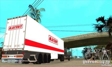 Trailer Magnit для GTA San Andreas вид сзади слева