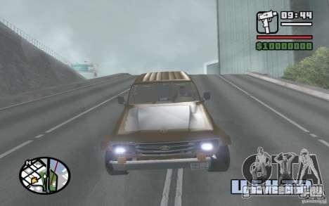 Toyota Land Cruiser 70 для GTA San Andreas вид справа