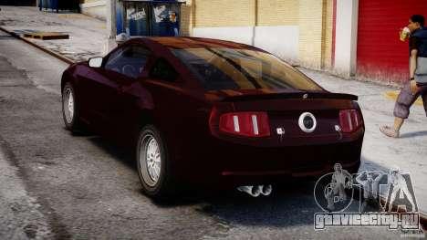 Ford Shelby GT500 2010 для GTA 4 вид сбоку
