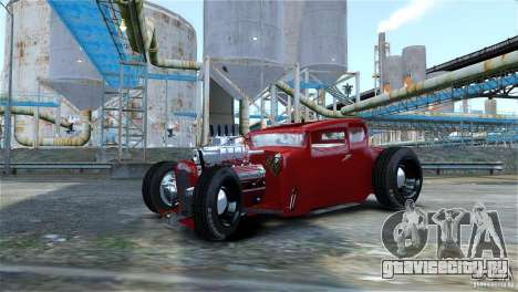 Smith 34 Hot-Rod Restyling для GTA 4 вид сзади