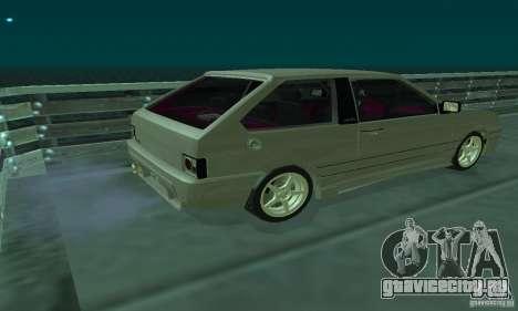 ВАЗ 2113 ADT Art Tuning для GTA San Andreas вид сзади слева