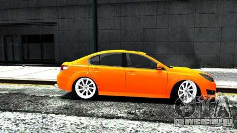 Subaru Legacy B4 для GTA 4 вид сзади слева