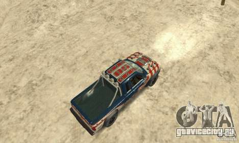Nevada v1.0 FlatOut 2 для GTA San Andreas вид сзади слева