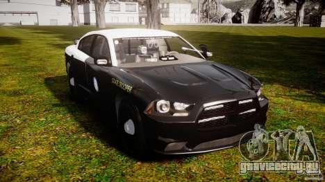 Dodge Charger 2012 Florida Highway Patrol [ELS] для GTA 4 вид справа