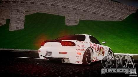 Mazda RX7 FD Apex Imamura для GTA 4 вид сверху