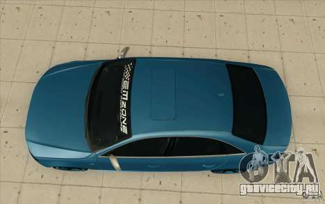Audi S4 2009 для GTA San Andreas вид справа