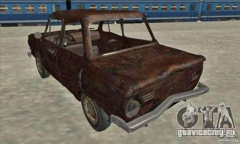 ЗАЗ 968 Заброшенный v.2 для GTA San Andreas вид справа