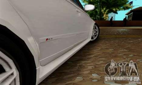 Audi RS4 2007 для GTA San Andreas вид снизу